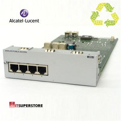 Alcatel Lucent APA4 Analog Dış Hat Kartı (4 Port) - Outlet Ürün