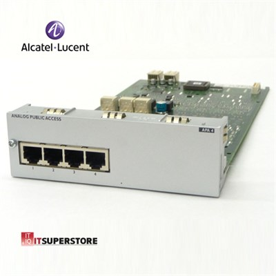 Alcatel Lucent APA4 Analog Dış Hat Kartı (4 Port)