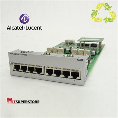 Alcatel Lucent APA8 Analog Dış Hat Kartı (8 Port) Outlet Ürün