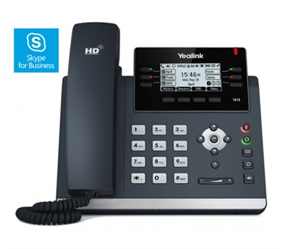 Yealink SIP T41S IP Telefon Skype for Business Edition