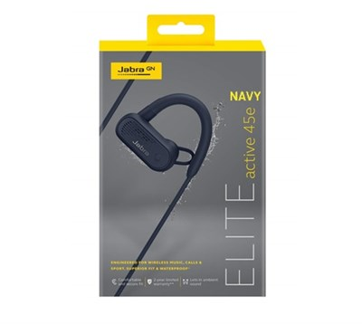 Jabra Elite Active 45e Mavi (Navy) Bluetooth Kulaklık