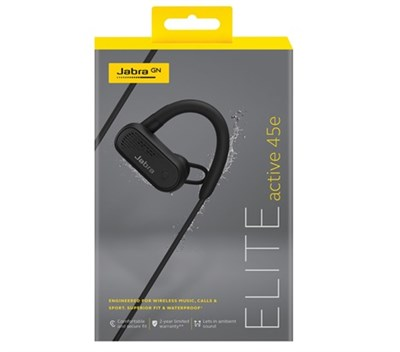 Jabra Elite Active 45e Siyah (Black) Bluetooth Kulaklık