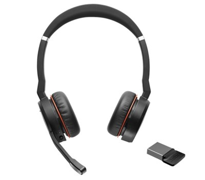 Jabra Evolve 75 Duo MS Bluetooth Kulaklık